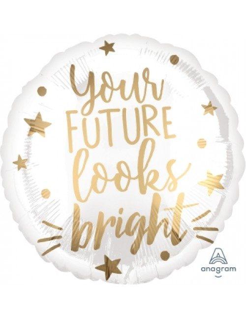 [Graduation] 18inch Your Future Looks Bright Foil Balloon