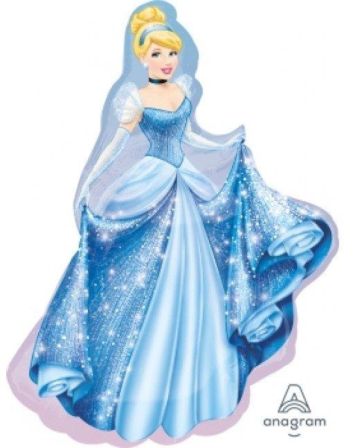 [Princess] 33inch Cinderella Foil Balloon