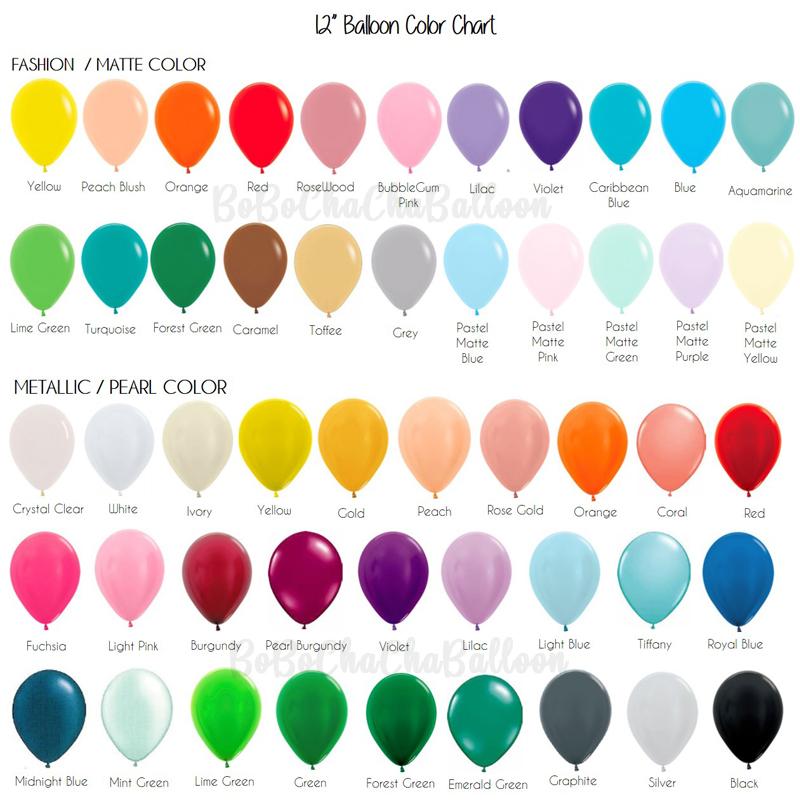 "12"" Latex Balloons"