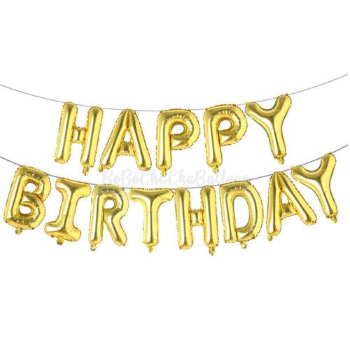 Letter/ Number Foil Balloons