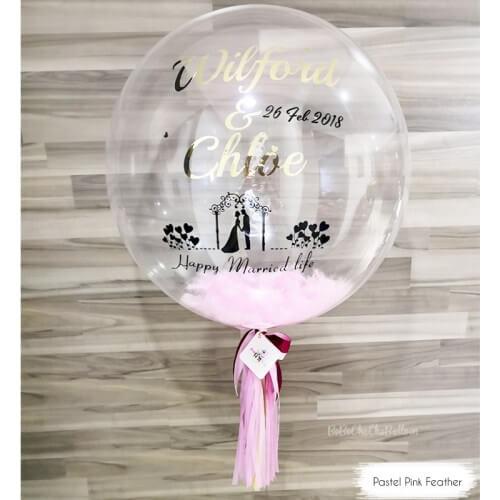 singapore wedding balloon décor
